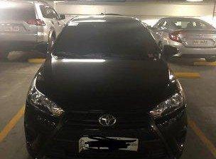 Selling Black Toyota Yaris 2016 in Manila