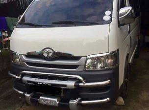 White Toyota Hiace 2010 Van for sale