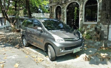 Grey Toyota Avanza 2012 Automatic for sale