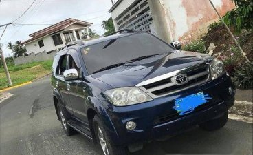 Blue Toyota Fortuner 2008 Automatic for sale