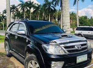 Sell Black 2008 Toyota Fortuner at 184000 km