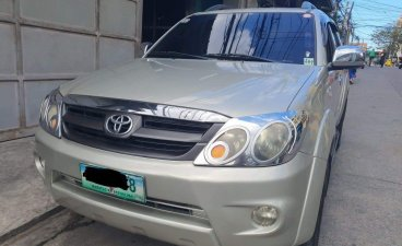 Grey Toyota Fortuner 2008 for sale in Tagaytay