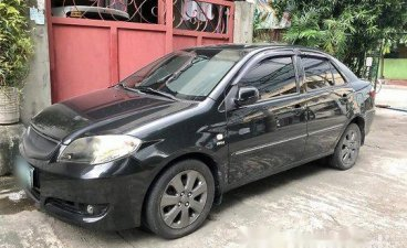 Black Toyota Vios 2006 at 75000 km for sale