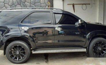 Selling Black Toyota Fortuner 2016 in Santa Maria
