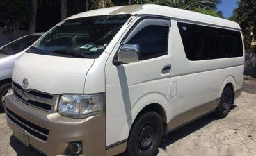 White Toyota Hiace 2013 Manual for sale