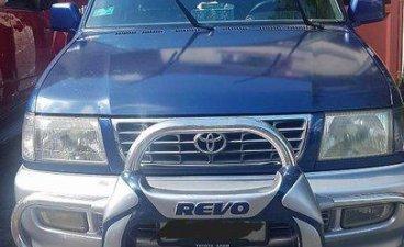 Selling Blue Toyota Revo 2001 Manual Gasoline