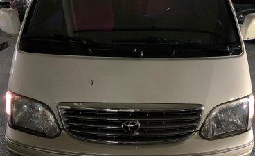 Sell Pearl White 2003 Toyota Hiace in Manila