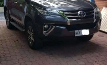 Sell Grey 2016 Toyota Fortuner in Parañaque