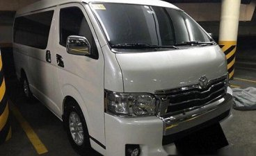 White Toyota Hiace 2018 at 5000 km for sale