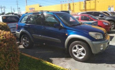 Blue Toyota Rav4 2001 for sale in Cavite