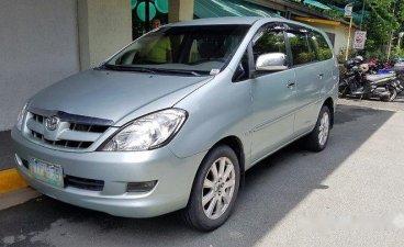 Silver Toyota Innova 2005 for sale in Quezon City