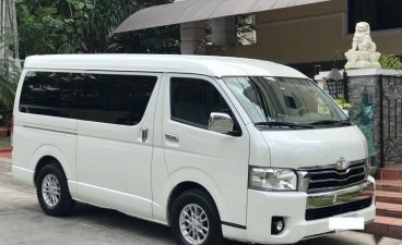 Sell White 2014 Toyota Grandia in Makati