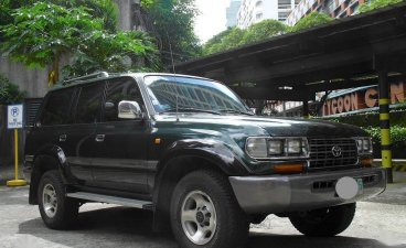 Green Toyota Land Cruiser 1997 for sale in Manila