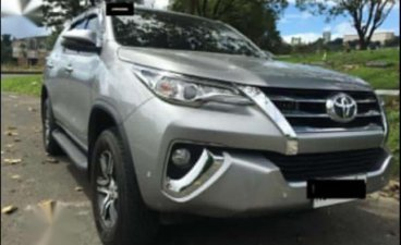 Selling Silver Toyota Fortuner 2019 in Quezon City