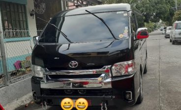 Sell Black 2017 Toyota Hiace in Cavite