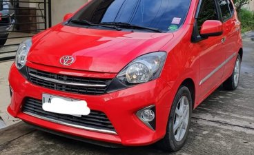 Sell Red 2017 Toyota Wigo in Davao City