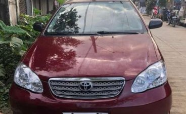 Sell Red 2006 Toyota Corolla altis in Manila