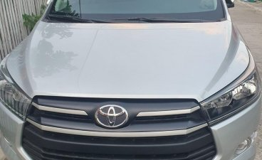 Silver Toyota Innova 2020 for sale in Automatic