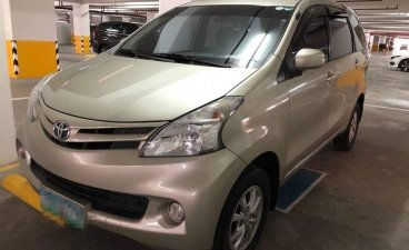 Beige Toyota Avanza 2012 for sale in Manual