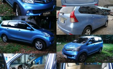 Sell Blue 2014 Toyota Avanza in Quezon City