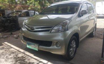 Beige Toyota Avanza 2014 for sale in Manual