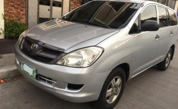 Selling Silver Toyota Innova 2008 in Caloocan
