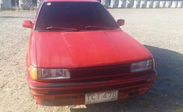 Red Toyota Corolla 1992 for sale in Manual