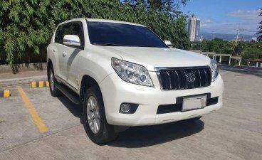 White Toyota Prado 2013 for sale in Quezon City