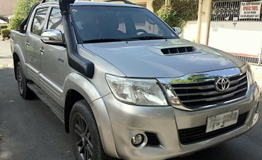 Sell Silver 2015 Toyota Hilux in Manila