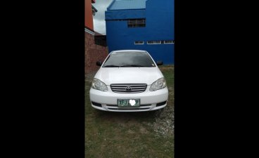 Sell White 2003 Toyota Corolla altis Sedan at  Automatic  in  at 70000 in Batangas City