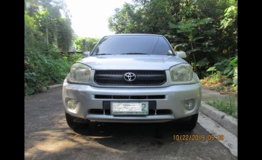 Selling Silver Toyota Rav4 2004 SUV / MPV at 155000 in Antipolo