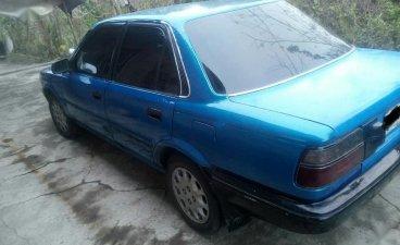 Blue Toyota Corolla 1991 for sale in Manila