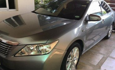 Grey Toyota Camry 2014 at 45000 km for sale