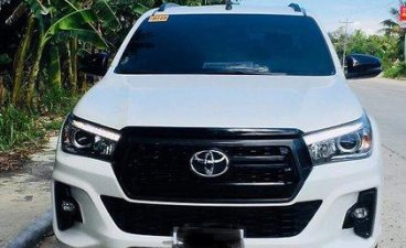 Sell White 2018 Toyota Hilux in Manila