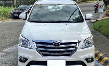 Pearl White Toyota Innova 2016 for sale in Muntinlupa