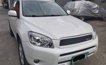 White Toyota Rav4 2008 for sale in Quezon City