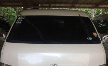 White Toyota Hiace 2015 for sale in Cebu City