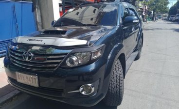 Black Toyota Fortuner 2016 for sale in Manila