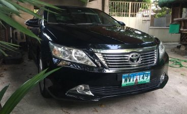 Black Toyota Camry 2013 for sale in Automatic