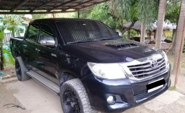 Black Toyota Hilux 2015 for sale in Batangas City