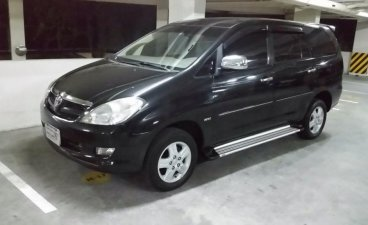 Black Toyota Innova 2006 for sale in Manila