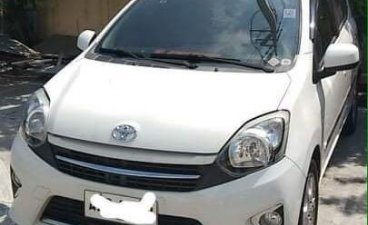 White Toyota Wigo 2016 for sale in Automatic