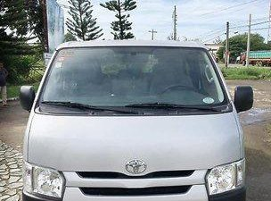 Sell Silver 2016 Toyota Hiace in Manila