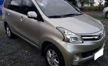 Beige Toyota Avanza 2014 for sale in Manila