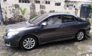 Grey Toyota Corolla altis 2009 for sale in Marikina