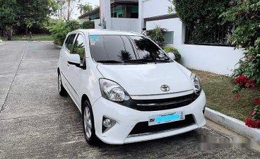 Selling White Toyota Wigo 2016 in Parañaque