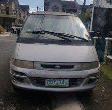 Silver Toyota Estima 1990 for sale in Manila