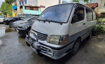 Silver Toyota Hiace 2000 for sale in Manual