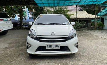 White Toyota Wigo 2015 for sale in Manila