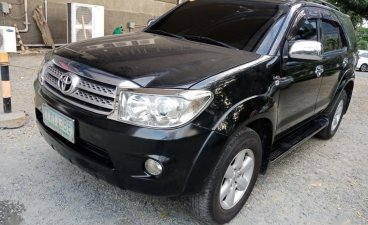 Black Toyota Fortuner 2011 for sale in Taguig